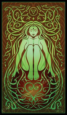 Shakti: Earth Spirit   A sensual Earth spirit. She represents the element of Earth- grounding, nurturing, fertile.  Earth's nature is pati...