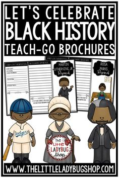Your students will love researching with these Black History Month Research Brochures. Many influential leaders and civil rights activist included. Perfect for 3rd graders, 4th graders, 5th graders, home schooling, and more! #blackhistorymonth #blackhistorymonthactivities #blackhistorymonthwriting #blackhistoryresearch