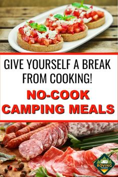 Camping Meal Planning, Camping Food Make Ahead, Camping Lunches, Best Camping Meals, Camping Menu, Camping Breakfast, Camping Ideas, Easy Camping Recipes, Camping Foods