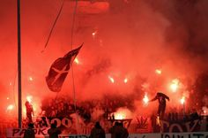 PAOK ULTRAS |GATE 4| PYROSHOW!