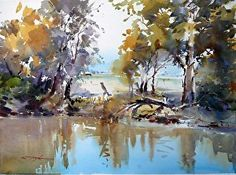 watercolor scenery - Google Search