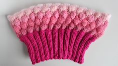 How to Knit a Bubble Stitch Pussy Hat for the Women's March by Studio Knit Knitting Stitches, Knitting Patterns Free, Stitch Patterns, Hat Patterns, Knitting Needles, Free Knitting, Free Pattern, Hat Tutorial, Quick Knits