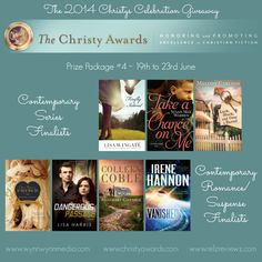 The 2014 Christys Celebration Giveaway Prize Package #4 | relzreviewz.com.  It ends June 23, 2014. Hurry!
