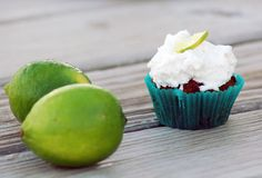 Toasted coconut-lime cupcakes with coconut clotted cream. It kind of tastes like a margarita. A really delicious, cupcake-meets-scone kind of margarita. Coconut Lime Cupcakes, Paleo Cupcakes, Yummy Cupcakes, Cupcake Cookies, Paleo Dessert, Delicious Desserts, Dessert Recipes, Paleo Food, Cupcake Recipes