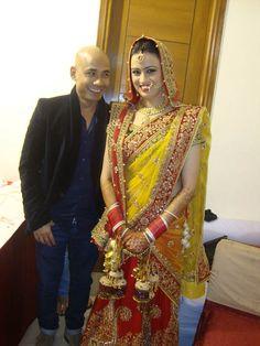 Wedding make-up New Delhi india