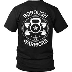 Let out your inner warrior with this design. You can find anything fitness and sports related on @boroughwarriors instagram page. Link: https://www.instagram.com/boroughwarriors/ Our most popular unisex shirt 100% combed and ring-spun cotton 4.3-ounce and 30 singles Rib-Knit Crew Neck Double needle sleeves and hem View Sizing Chart All products are custom designed and specially made for you! Popular high demand products may take up to 1-2 weeks before shipping out.