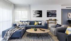 סקנדינבית עם טוויסט: שיפוץ דירה בצפון תל אביב | בניין ודיור