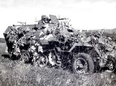 A camo German halftrack. Barbarossa, 1941.
