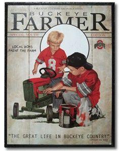 local boys paint the farm...
