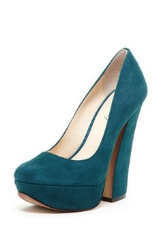 Boutique 9 Emmarae Pump on HauteLook → I don't even like chunky heels, but I like these.