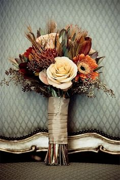 Wedding    Ideas»Bouquet»26 Prettiest Fall Wedding Bouquets to    Stand You Out » ❤️ More:    http://www.weddinginclude.com/2017/08/prettiest-fall-wedding-bouquets-to-stand-you-out/