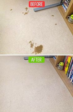 13Superb Ways toMake Old Things Look AsGood AsNew Dog Cleaning, Household Cleaning Tips, House Cleaning Tips, Diy Cleaning Products, Cleaning Solutions, Cleaning Hacks, Cleaning Quotes, Cleaning Service, Clean Car Carpet