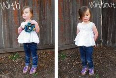 The Julia Shirt Tutorial shwin & shwin some super cute sewing tutorials Diy Clothes Refashion, Diy Clothing, Sewing Clothes, Sewing For Kids, Baby Sewing, Little Girl Dresses, Flower Girl Dresses, Toddler Outfits, Kids Outfits