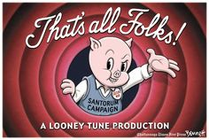 Porky Pig just gets it.