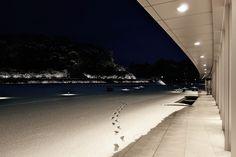 金澤コンシェルジュ通信: しいのき迎賓館 淡雪夕景