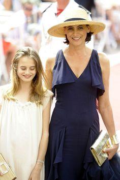 Ines de la Fressange - Guests arrive for Monaco royal wedding