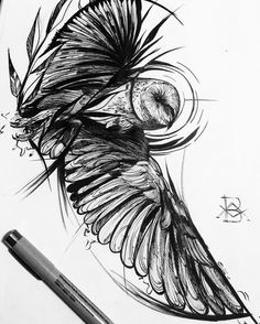 Sabedoria - Coruja disponível para tattoo, para reservar entrar em contato em: brunoalmeida.art@gmail.com  #linework #owl #darkartists #btattooing #onlyblacktattoos #blxckink #tattrx #blackworkerssubimission  #blackwork #linework #tattoo #bw #dw...