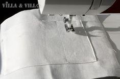 Villa ja Villa: DIY meikkipussi tai pussukka (versio 2) Diy Bags Purses, Home Crafts, Homemade