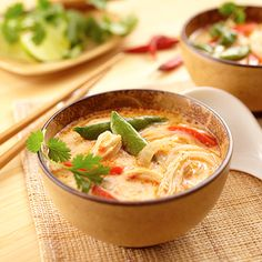 Thai Chicken Noodle Soup from Land O'Lakes