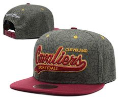 661759351d3 NBA Cleveland Cavaliers Grey Snapback Hats--sd. Hats Store