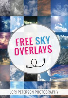 30 FREE SKY OVERLAYS | GRAB YOURS NOW! #photography #photoshop #freebies