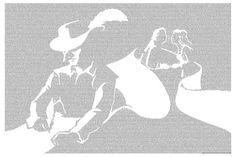 Cyrano de Bergerac poster art print - Postertext