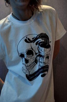 "Koszulka ""TIKI skull"" Rozmiary M, L"