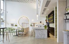 The Kettle Black is one of Melbourne's hippest destination cafes and has been imaginatively designed by Studio You Me.