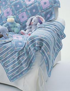 Yarnspirations.com - Bernat Soft Stripes Blanket - Patterns | Yarnspirations