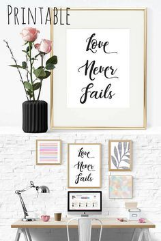 """Love Never Fails"" P"