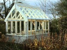 victorian greenhouse plans diy - Google Search