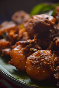 Come hungry. Prawn Recipes, Fish Recipes, Seafood Recipes, Indian Food Recipes, Ethnic Recipes, Prawns Roast, Prawns Fry, My Favorite Food, Favorite Recipes