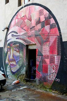 Krug / Artez / Skadarlija #BeogradskiGrafiti #StreetArt #Graffiti #Beograd #Belgrade #Grafiti