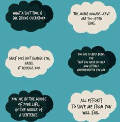 the wise words of augustus waters <3 oh my gosh i am having post post depression right now