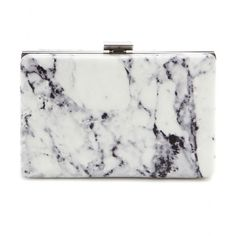 Balenciaga - Printed leather box clutch - Printed with a chic marble design, this clutch from Balenciaga is a sublime piece to carry in your hand day or night. The smooth leather is accented with silver and gold-tone hardware for a polished finish. Let it finish an all-black outfit after dark. seen @ www.mytheresa.com