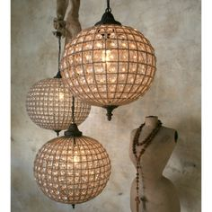 gorgeous chandelier globes  http://rstyle.me/n/fkmsdpdpe