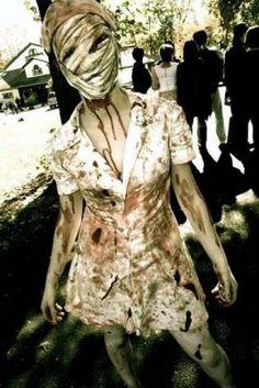 Found my Halloween costume! Nurse from SIlent Hill Costume tutorial