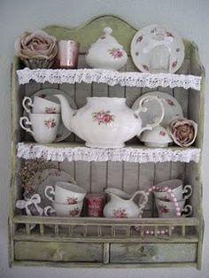 Porcelana Floral