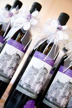 Bomboniere alimentari enogastronomiche vino. Wedding favor wine. #wedding #favor