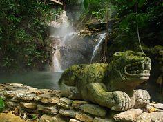 aguas termales Azacualpa (HONDURAS)