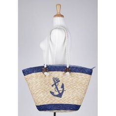 Bettie Page Clothing Anchor Beach Bag