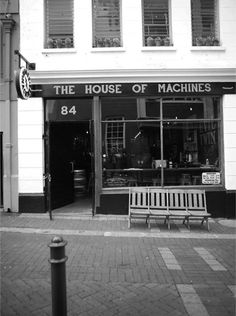 The House of Machines - Contact Us