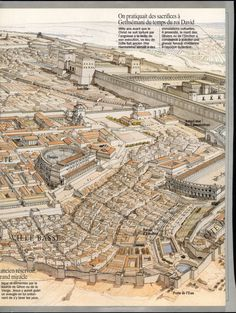 Jerusalem in the time of Herod the Great BC) © Jean-Claud . - Renan Mengu - - Jerusalem in the time of Herod the Great BC) © Jean-Claud . Roman Architecture, Historical Architecture, Ancient Architecture, Ancient Mesopotamia, Ancient Civilizations, Ancient Rome, Ancient History, Solomons Temple, Roman History