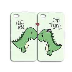 Best Friends Phone Case Cute Dinosaur Case Funny iPod Case Cute iPhon…