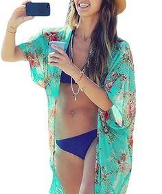 Yonala Summer Womens Beach Wear Cover up Swimwear Beachwear Bikini