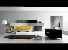 Catálogo Quique Toledano | Composición de comedor lacada en blanco, gris, negro y ocre. Vivir en color...Contraste elegante