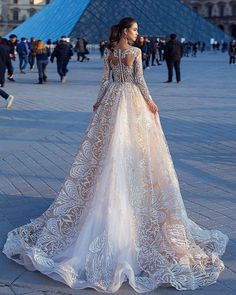 Top 24 Wedding Dresses For Celebration ❤️ lace ball gown wedding dress with llusion long sleeves in blush color by lorenzo rossi ❤️ See more: www.weddingforwar… - Best Wedding Dresses Collections for Popular Wedding Dresses, Dream Wedding Dresses, Bridal Dresses, Wedding Gowns, Lace Wedding, Wedding Bride, Trendy Wedding, Ballroom Wedding, Blush Dresses