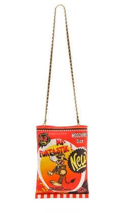 a452a9fd4003f Moschino Mr.Funtastik Fold Over Bag Novelty Handbags