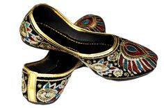 Women Ethnic Footwear Jutti Mojari Shoe from KADA