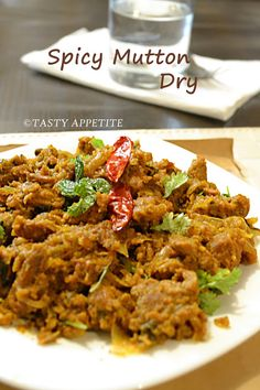 Tasty Appetite: How to make Chettinad Mutton Fry / Kari Varuval / Spicy Mutton Fry / Pepper Mutton Fry: